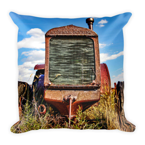 McCormick-Deering Throw Pillow