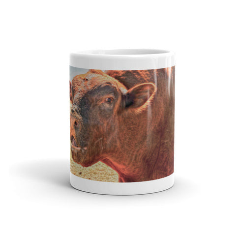 Too Close for Bull Mug