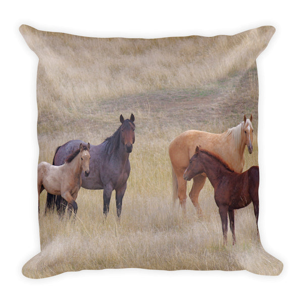 The Colors Of The Front Range Throw Pillow