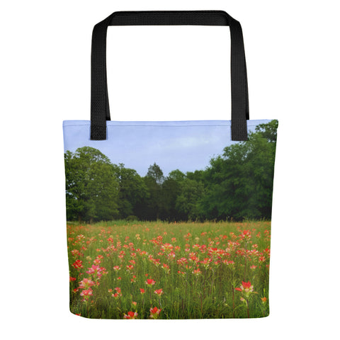 A Pocket Full of Paintbrush Tote bag
