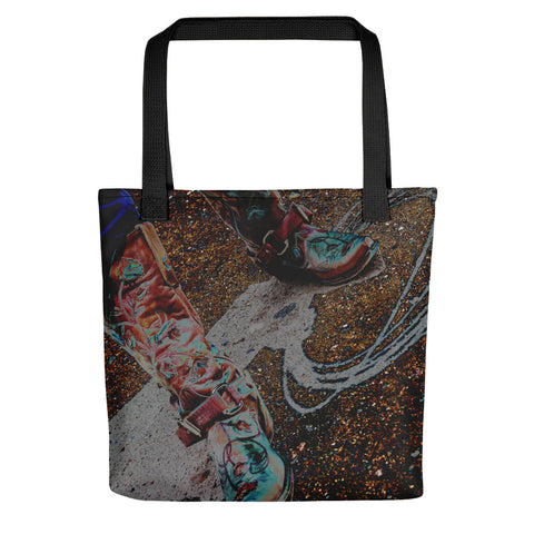 Retro Cowgirl Tote bag