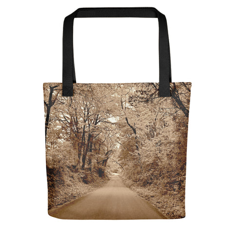 Texas Road Tote bag