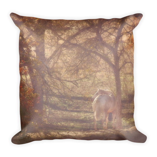 Sunlight's Serenity Throw Pillow