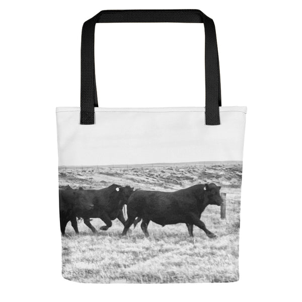 Bulls on the Run Tote bag