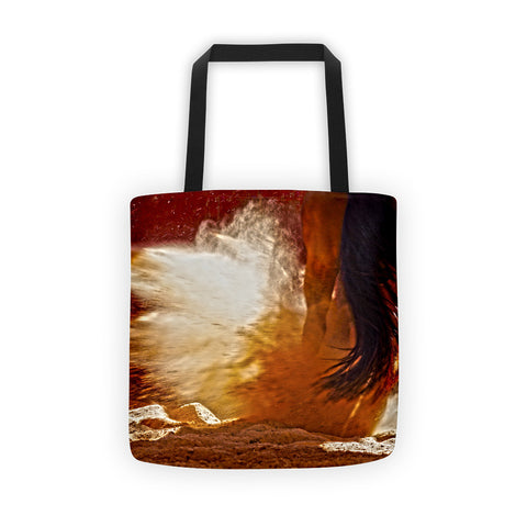 Detonation Tote bag