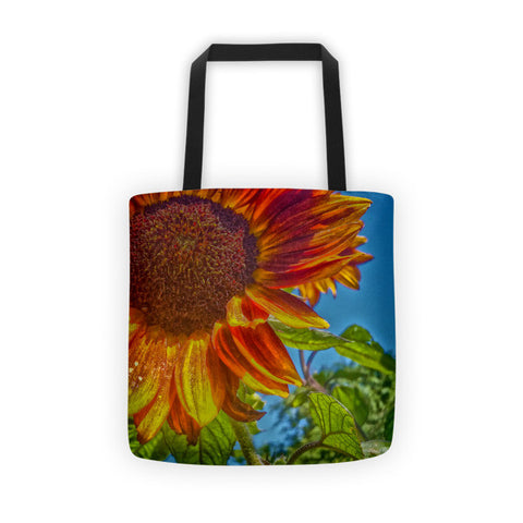 Sunflower Bonnet Tote bag