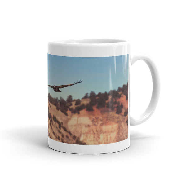 Have You Never Seen a Hawk on The Wing Mug