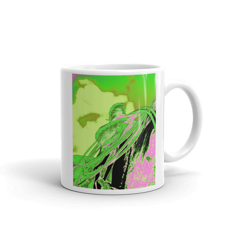 Saddle Electric Pink Mug