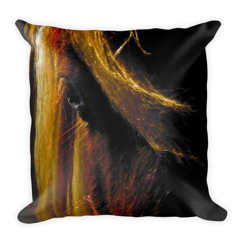 Sunset on the Wild Throw Pillow