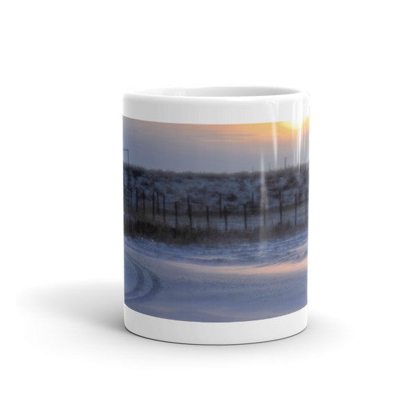 Early Morning Winter Mug
