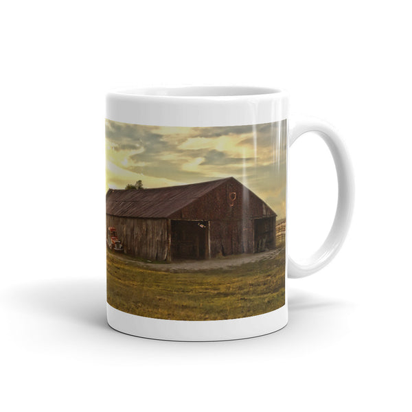 Leuenberger Barn at Sunset Mug