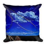 Rope the Road Ahead Throw Pillow