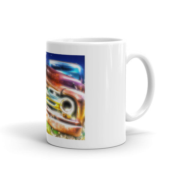 Wyoming Old Chevy Truck Mug