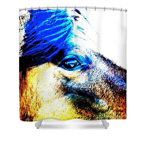 Mustang Sally Shower Curtain