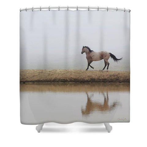 Mystical Beauty Shower Curtain