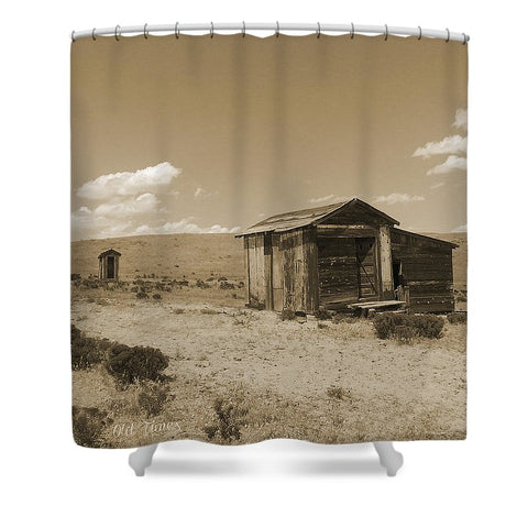 Out On The Prairie Shower Curtain