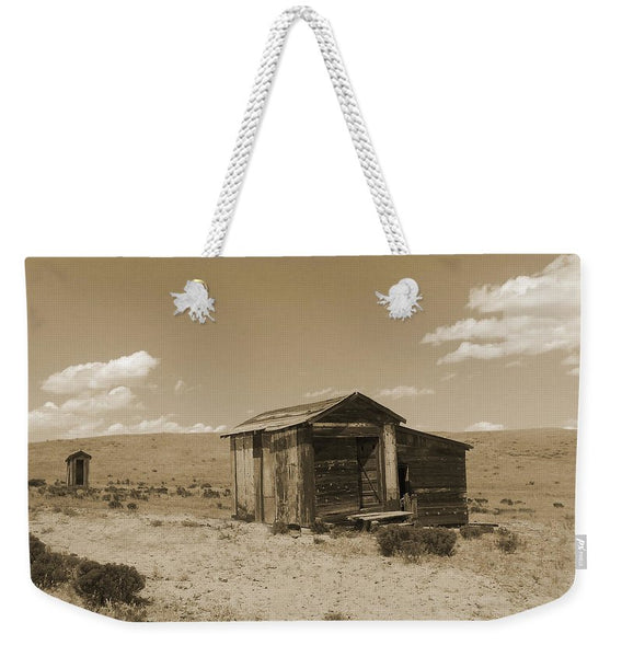 Out On The Prairie Weekender Tote bag