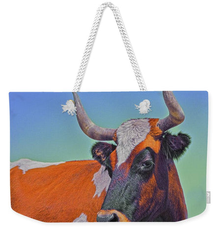 Orange Crush Weekender Tote bag
