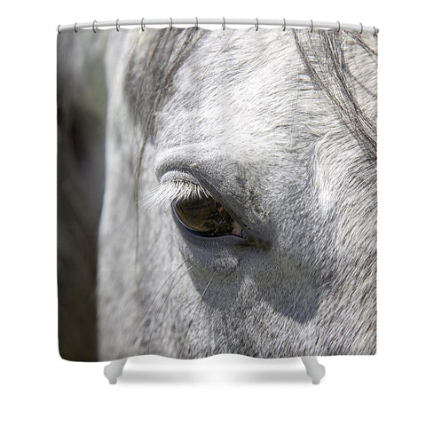 Ousted's Eye Shower Curtain