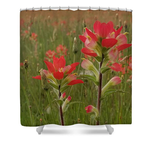 Prairie Fire Shower Curtain