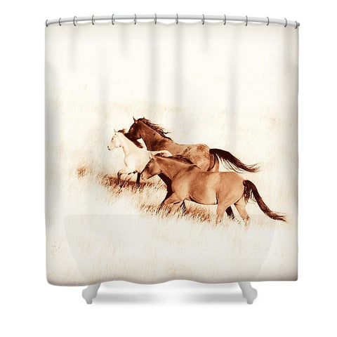 Prairie Wild Shower Curtain