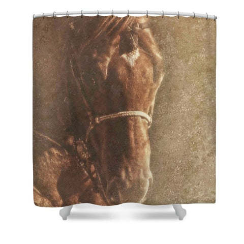 Prowess and Power Shower Curtain