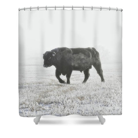 Quietly Majestic Shower Curtain