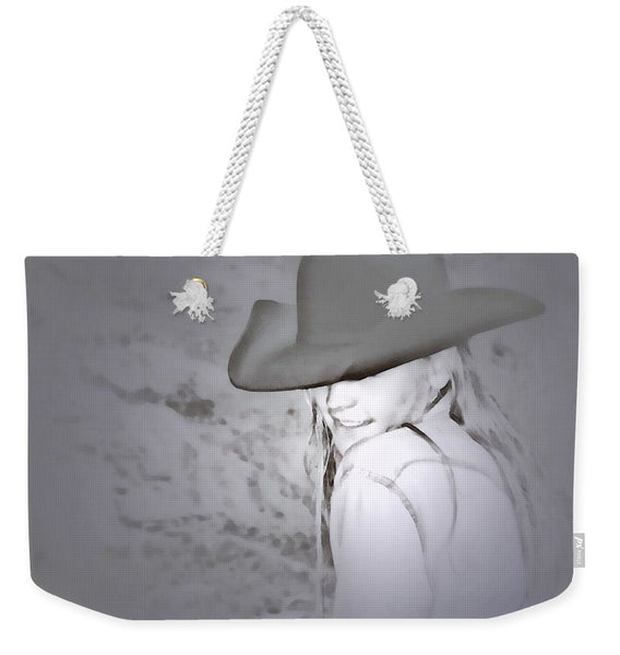 Rainy Day Cowgirl Weekender Tote bag