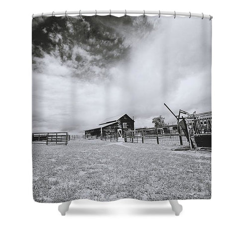 Ranchscape Shower Curtain