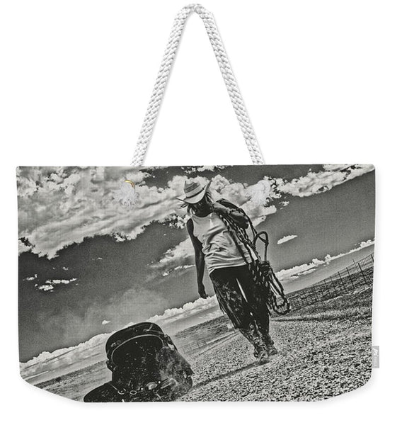 Real as Real Weekender Tote bag