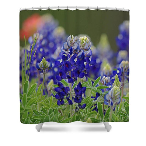Roadside Beauties Shower Curtain