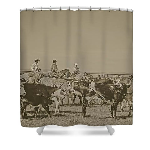 Rockwell Moments Shower Curtain