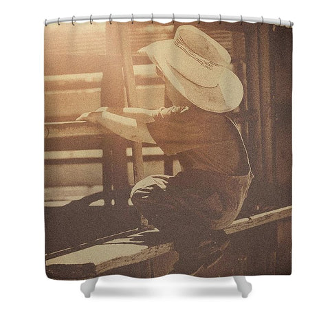 Rodeo Dreamin' Shower Curtain