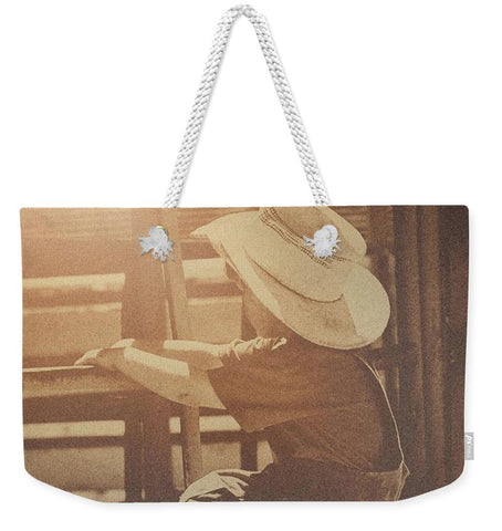 Rodeo Dreamin' Weekender Tote bag