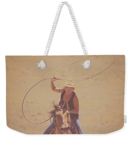 Rope 'Em While They're Hot Weekender Tote bag