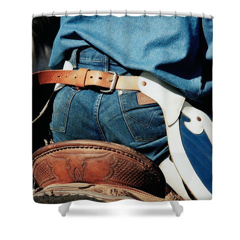 Rugged Wrangler Shower Curtain