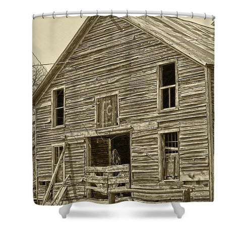 Rustic Barn of Old Shower Curtain