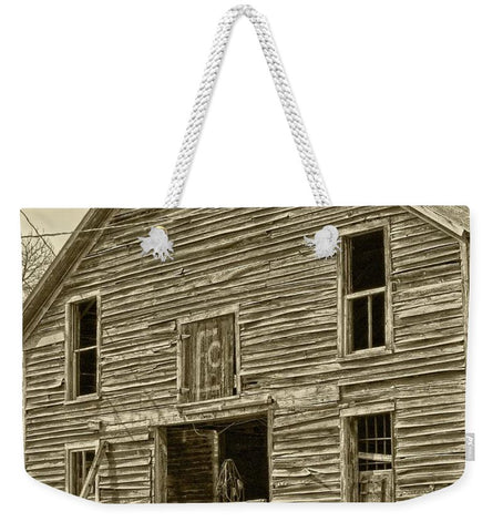 Rustic Barn of Old Weekender Tote bag