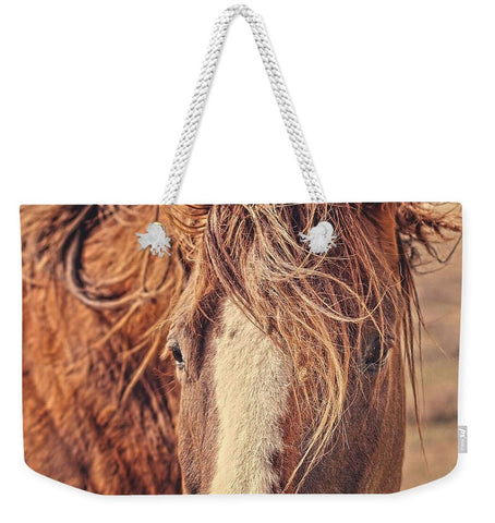 Rustic Eyes Weekender Tote bag