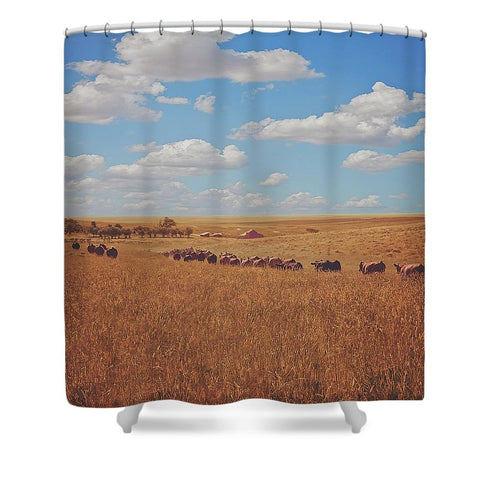 Sarah's View Shower Curtain