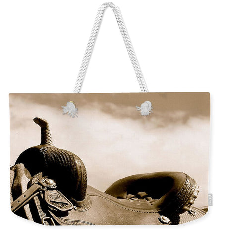 Sepia Saddle Weekender Tote bag