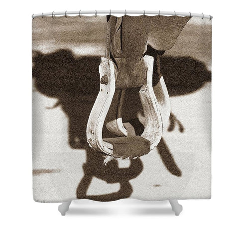 Shadow of the West Shower Curtain