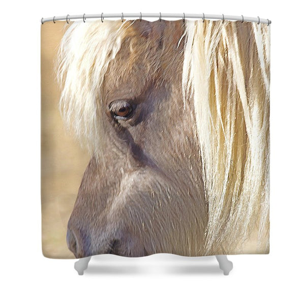 Silver And Grey In Sunlight Shower Curtain