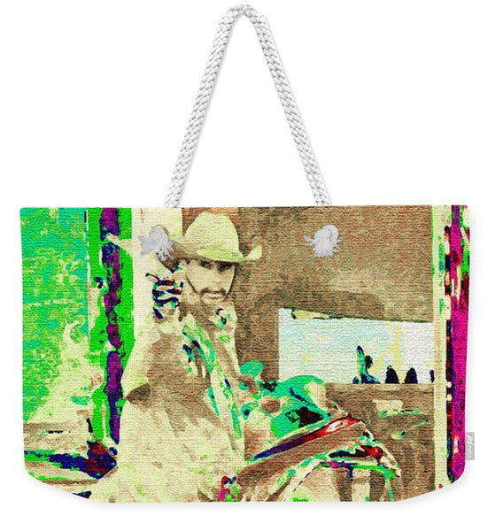 Sometimes Its Fast Weekender Tote bag