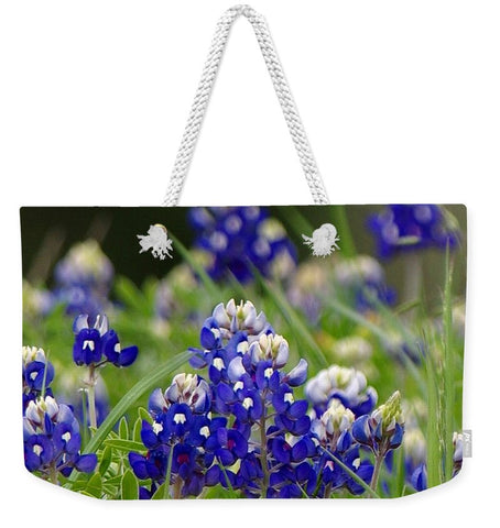 Springtime In Blue Weekender Tote Bag