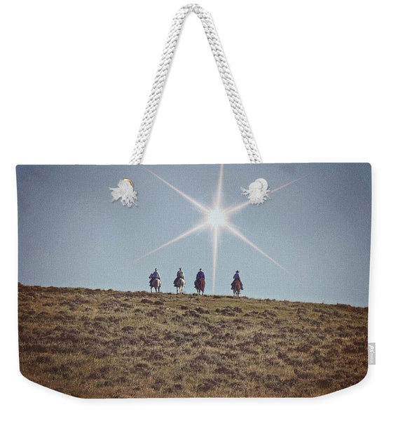 Star of Wonder Weekender Tote bag