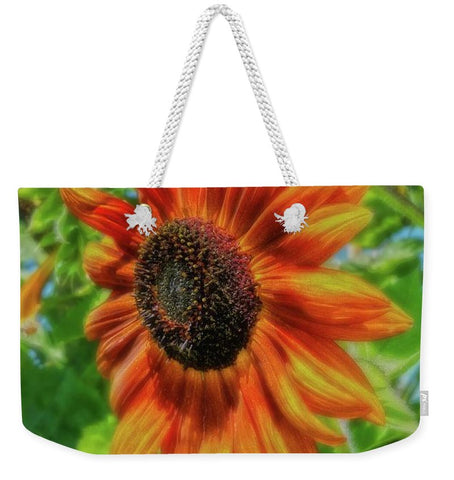 Sun Shower Sunflower Weekender Tote bag