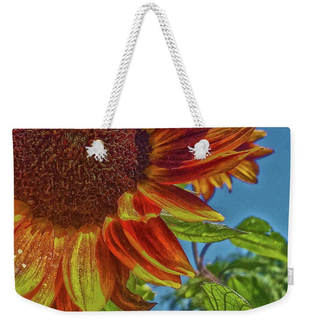 Sunflower Bonnet Weekender Tote bag