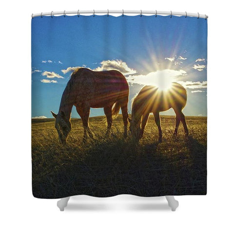 Sunrise Splendor Shower Curtain