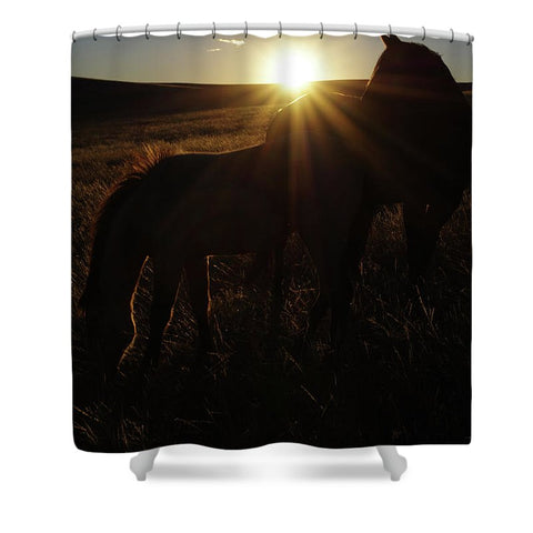 Sunset Love Shower Curtain